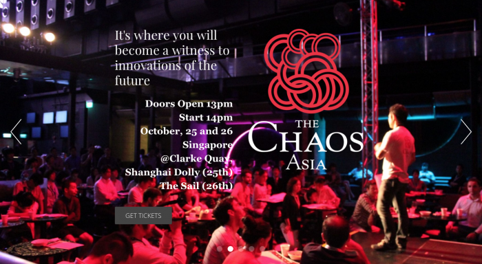 「the CHAOS ASIA」